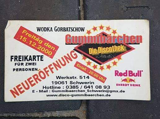 Gummibärchen Schwerin